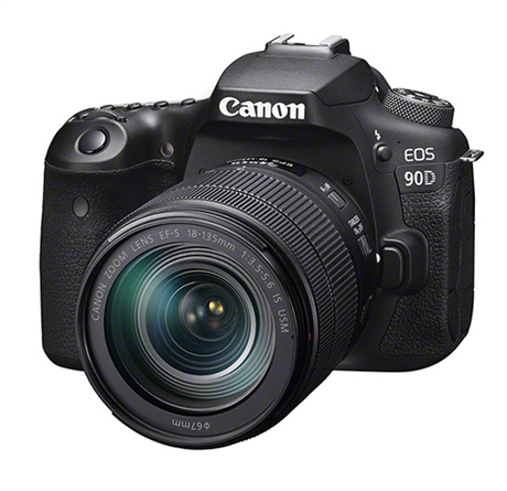Canon EOS 90D + 18-135 IS USM inkl. 128Gb