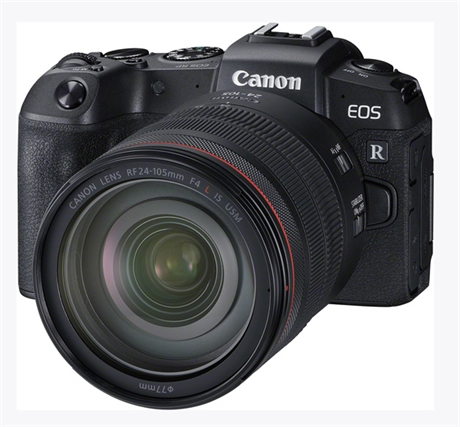 Canon EOS RP + RF 24-105/4L IS USM / EF-EOS R adapter