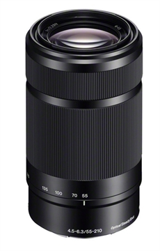 "Sony E 55-210/4.5-6.3 svart ""bulk"" inkl. UV filter"