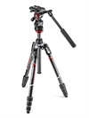 Manfrotto BEFREE Advanced Live Twist Video kolfiber stativkit